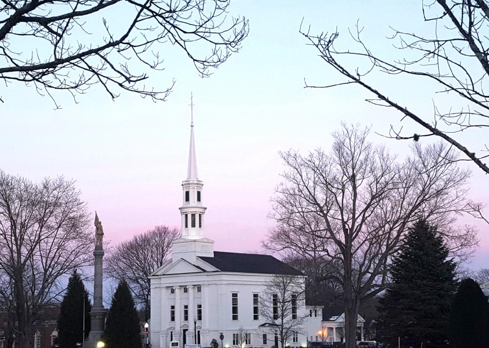 Church at Sundset